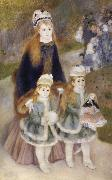 Pierre-Auguste Renoir Mother and children oil painting