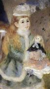 Pierre-Auguste Renoir Details of Mother and children oil painting