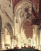 Pieter Jansz Saenredam Interior of the Church of St Bavo in Haarlem oil painting picture wholesale