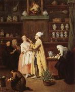 Pietro Longhi The Spice-Vendor's Shop oil painting picture wholesale