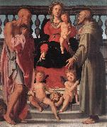 Pontormo, Jacopo Madonna and Child with Two Saints oil painting picture wholesale