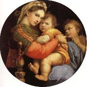 Raphael Madonna of the Chair oil painting picture wholesale