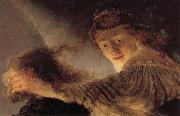 Rembrandt van rijn Details of the Blinding of Samson oil painting picture wholesale