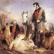 Sir Edwin Landseer Death of the Wild Bull oil painting picture wholesale