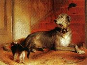 Sir edwin henry landseer,R.A. Lady Blessingham's Dog oil painting artist