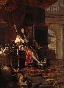 Testelin,Henri Louis XIV,protecteur de I'Academie Royale oil painting picture wholesale