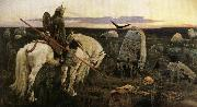 Viktor Vasnetsov The Paladin oil painting artist