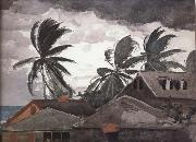 Winslow Homer Ouragan aux Bahamas oil painting picture wholesale
