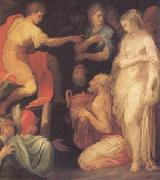 ABBATE, Niccolo dell The Continence of Scipio (mk05) oil painting
