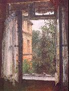 Adolph von Menzel View from a Window in the Marienstrasse oil painting picture wholesale