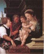 Barend van Orley The Holy Family (mk05) oil painting artist