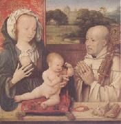 CLEVE, Joos van The Virgin and Child with a Dominican (mk05) oil painting picture wholesale
