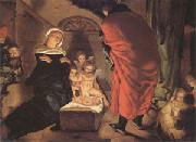 Claesz Aert The Nativity (mk05) oil
