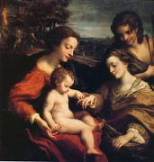 Correggio The Mystic Marriage (mk05) oil painting picture wholesale