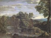 Domenichino Landscape with the Flight into Egypt (mk05) oil painting picture wholesale