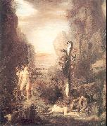 Gustave Moreau Hercules and the Lernaean Hydra oil painting picture wholesale