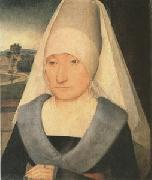 Hans Memling Portrait of an Old Woman (mk05) oil painting picture wholesale