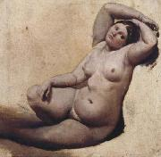Jean Auguste Dominique Ingres Oil sketch for the Turkish Bath (mk04) oil painting picture wholesale