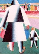 Kasimir Malevich To Harvest oil painting artist