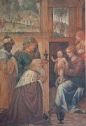 LUINI, Bernardino The Adoration of the Magi (mk05) oil painting picture wholesale