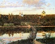Levitan, Isaak The Quiet Abode oil painting artist
