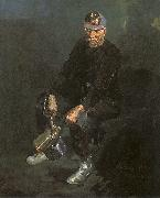 Luks, George The Miner oil painting artist