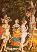 MANUEL, Niklaus The Judgement of Paris oil painting picture wholesale