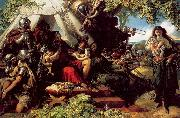 Maclise, Daniel King Cophetua and the Beggarmaid oil painting artist