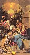 Maino, Juan Bautista del The Adoration of the Magi oil painting picture wholesale
