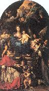Maratta, Carlo Madonna and Child Enthroned with Angels and Saints oil painting picture wholesale
