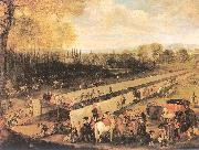 Mazo, Juan Bautista The Hunting Party at Aranjuez oil painting picture wholesale