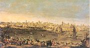 Mazo, Juan Bautista View of the City of Zaragoza oil painting picture wholesale