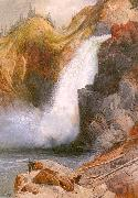 Moran, Thomas Upper Falls, Yellowstone oil painting picture wholesale