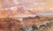 Moran, Thomas Cliffs of the Rio Virgin, South Utah oil painting picture wholesale