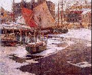 Mulhaupt, Frederick John Winter Harbor oil painting picture wholesale