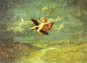 Naish, John George Moon Fairies II oil painting picture wholesale