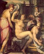 Naldini, Giovanni Battista Bathsheba Bathing oil painting picture wholesale