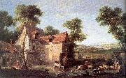 OUDRY, Jean-Baptiste The Farm oil painting picture wholesale