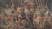 Paolo di Dono called Uccello The Battle of San Romano (mk05) oil painting artist