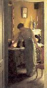 Paxton, William McGregor The Other Room oil painting artist
