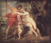 Peter Paul Rubens Venus and Adonis (mk01) oil painting picture wholesale