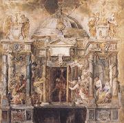 Peter Paul Rubens The Temple of Fanus (mk01) oil painting picture wholesale