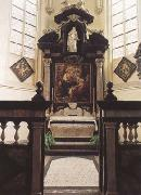 Peter Paul Rubens Rubes'funerary chapel in St Jacob's Church Antwerp,with the artist's (mk01) oil painting picture wholesale