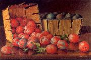 Prentice, Levi Wells Baskets of Plums on a Tabletop oil painting picture wholesale