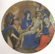 School of Paris or Dijon La Petite Pieta Ronde (Lamentation for Christ) (mk05) oil painting picture wholesale