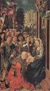 Ulrich apt the Elder The Adoration of the Magi (mk05) oil painting