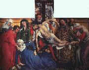 WEYDEN, Rogier van der The Descent from the Cross oil painting picture wholesale