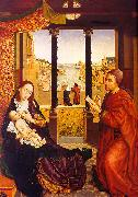 WEYDEN, Rogier van der St. Luke Painting the Virgin  Child oil painting picture wholesale
