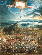 Albrecht Altdorfer Alexander's Victory (mk08) oil painting picture wholesale