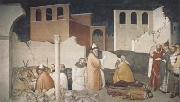 Ambrogio Lorenzetti St Sylvester Sealing thte Dragon's Mouth (mk08) oil painting picture wholesale